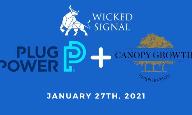 Plug Power & Canopy Growth